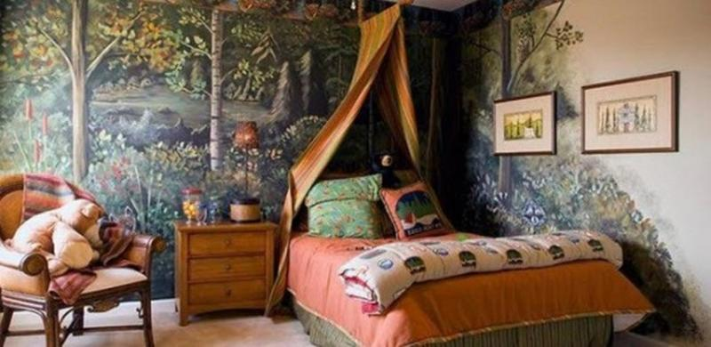 Stunning Jungle Themed Bedroom. 20 Jungle Themed Bedroom for Kids   Rilane