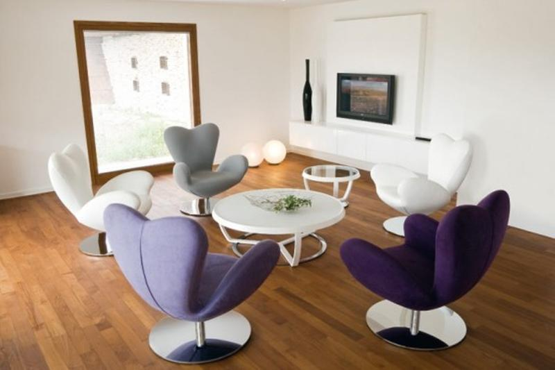 Stylish Swivel Chairs In Various Color