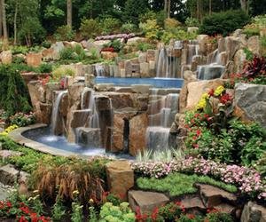 Relaxing Backyard Waterfalls Ideas