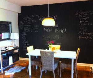 15 Dining Room with Chalkboard Accents