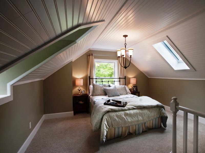 Attic Bedroom Ideas: Dazzling Attic Bedroom Design Ideas