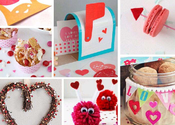 96 Valentine DIY projects, printables and baking