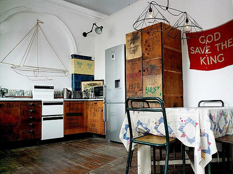 Vintage Industrial Kitchen
