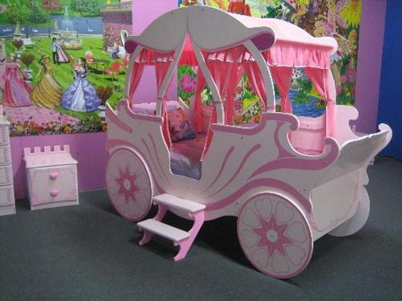 Cool beds tumblr - Dreamy Cinderella Carriage Bed Designs For Girls Rilane