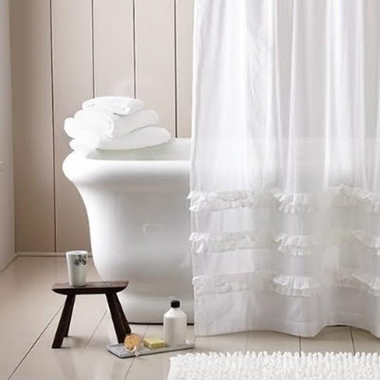 white linen shower curtain. White Linenen Extra Long Shower Curtain 10 ideas  Rilane