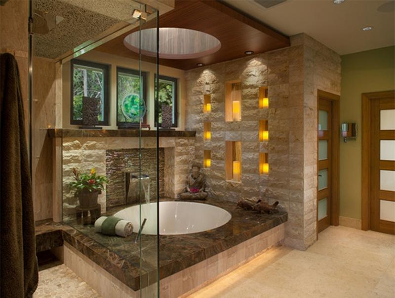 15 Exotic Asian Inspired Bathroom Design Ideas - Rilane