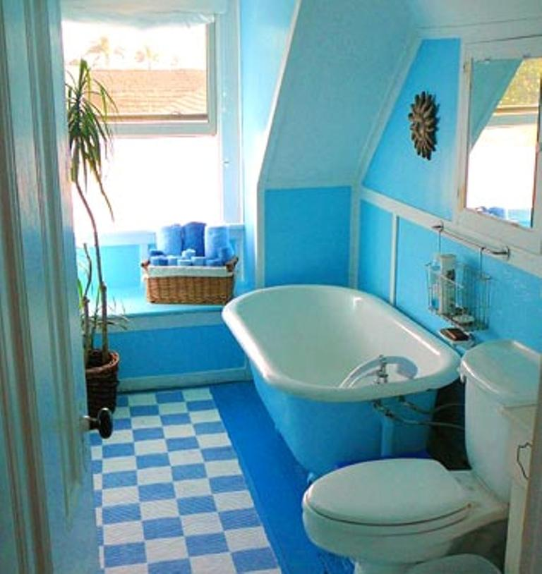 Adorable Blue Bath