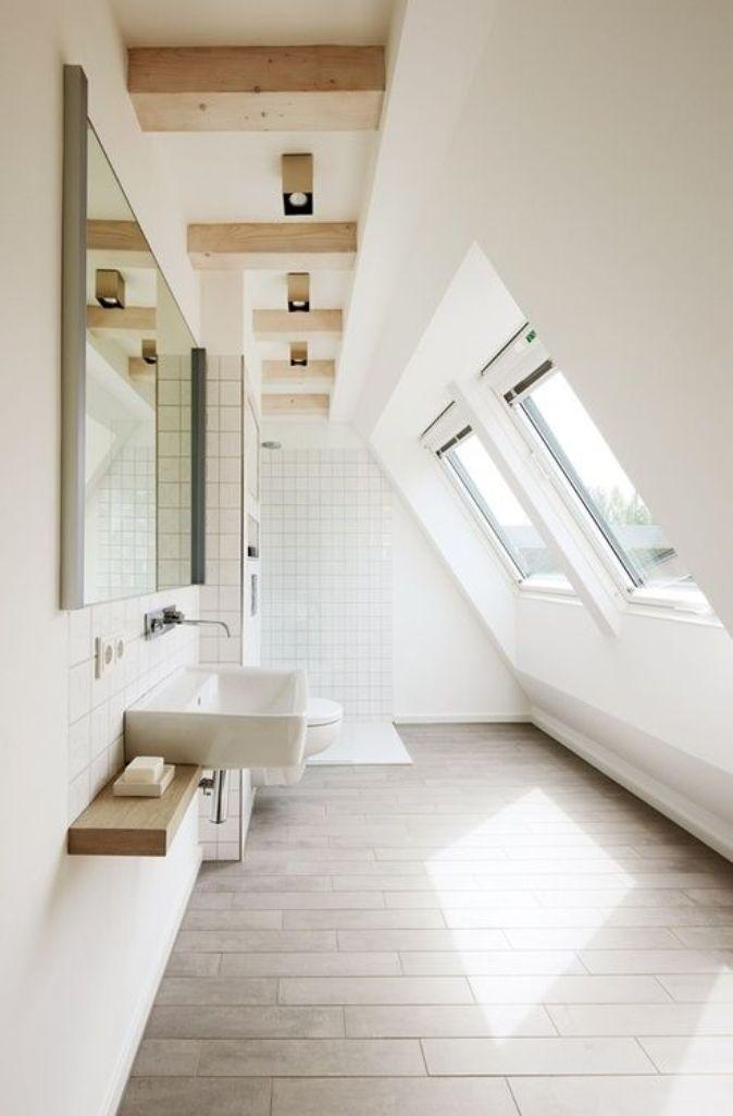 Beau Airy Attic Bathroom