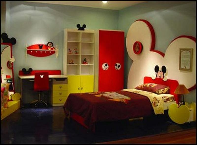 Amazing mickey mouse bedroom