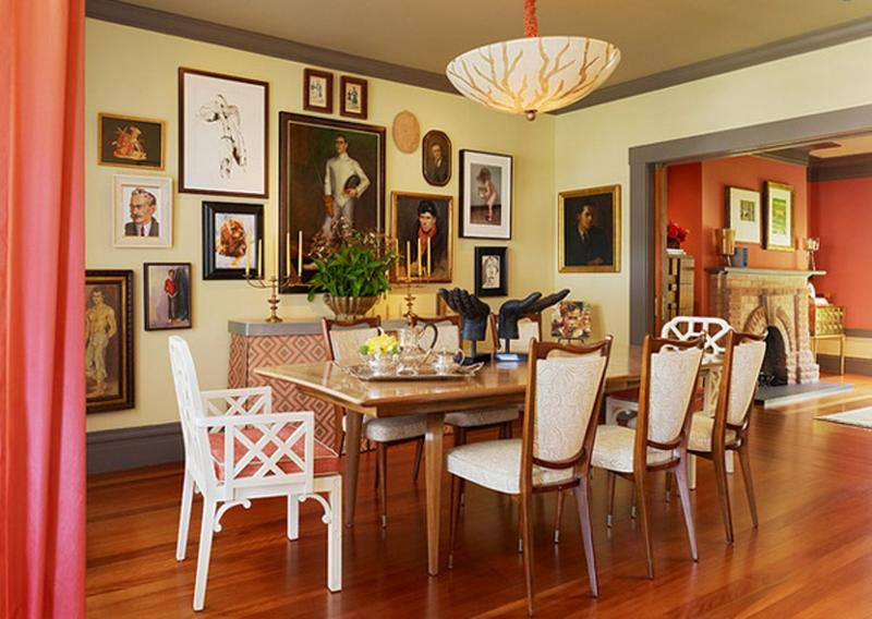 17 Captivating Eclectic Dining Room Designs