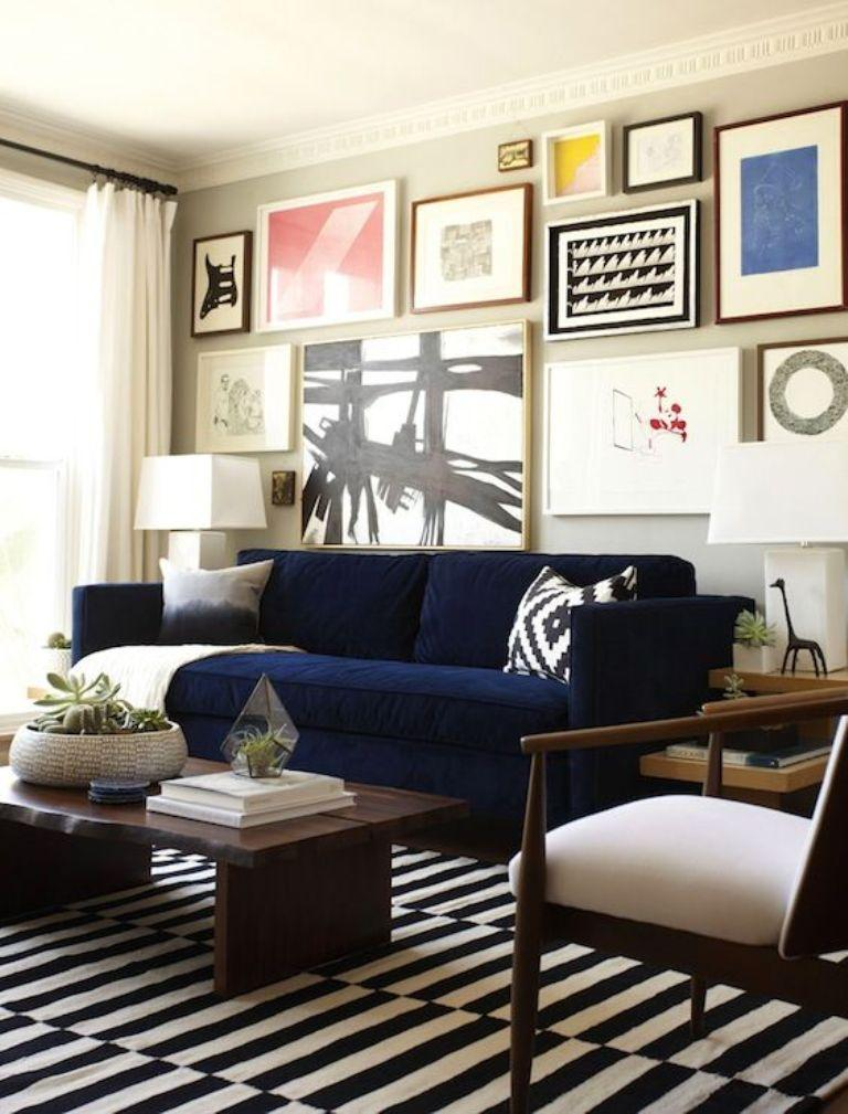 Artistic Eclectic Living Room. Image Source: Style By Mily Henderson