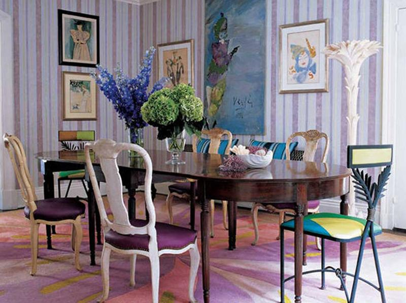 Avant Garde Eclectic Dining Room