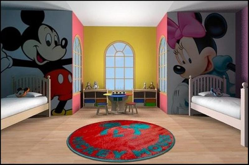15 mickey mouse inspired bedrooms for kids rilane rh rilane com mickey mouse clubhouse toddler room Mickey Mouse Furniture