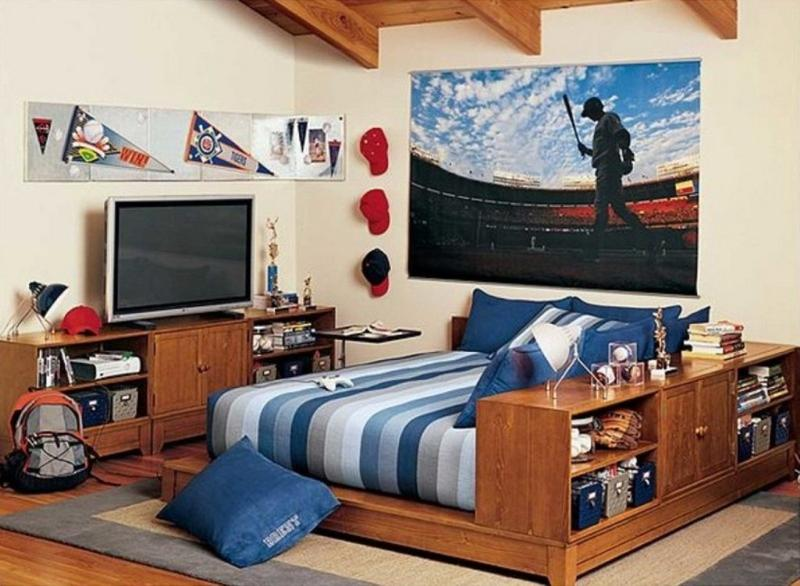 15 Sports Inspired Bedroom Ideas For Boys - Rilane