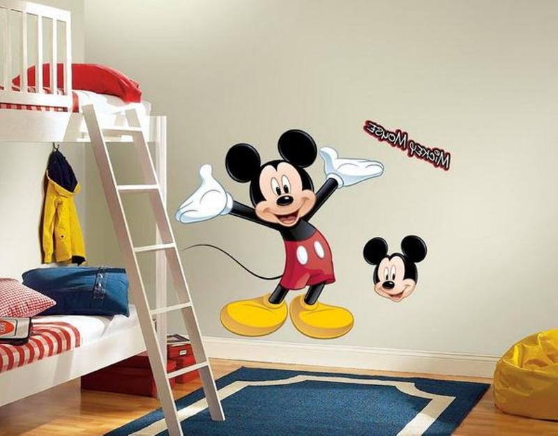 Beautiful Mickey Mouse Room. 15 Mickey Mouse Inspired Bedrooms for Kids   Rilane