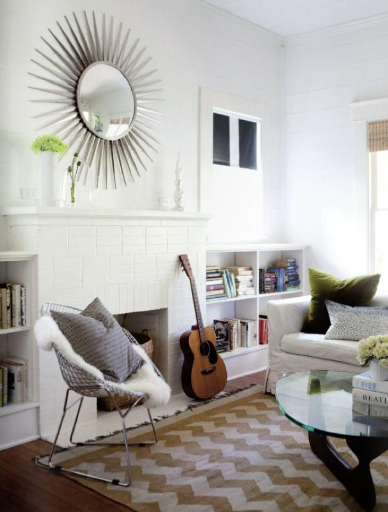 10 Modern Chevron Rug Designs for the Living Room Rilane