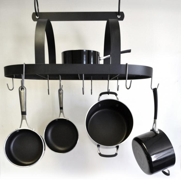 kitchen stainless room island racks trends incredible hanging xfile and amazing of pics rack popular pot