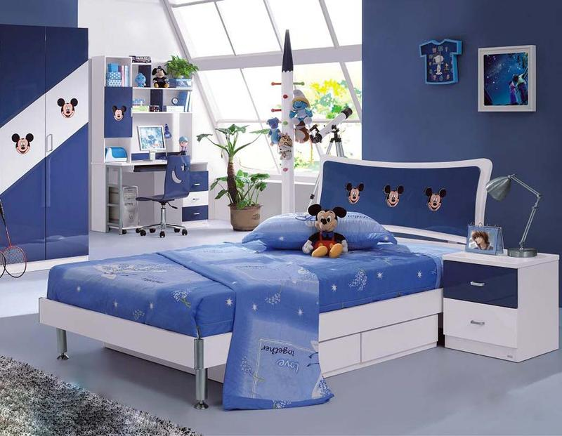 Blue Mickey Mouse Bedroom. 15 Mickey Mouse Inspired Bedrooms for Kids   Rilane