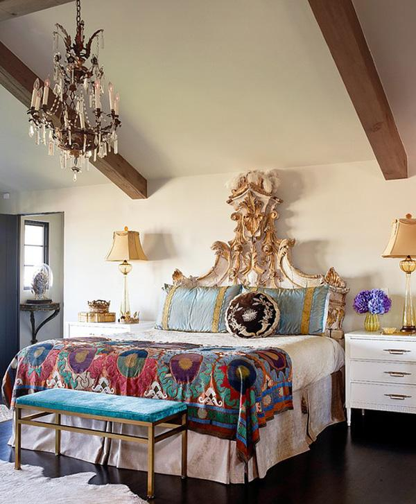Beau Bold Bohemian Bedroom