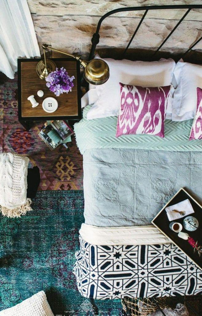 Bohemian Chic Bedroom Image Source Minimalist Home