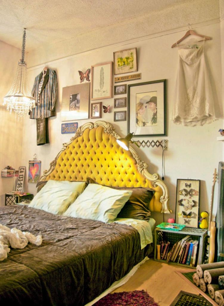 boho chic bedroom - Bright Color Bedroom Ideas