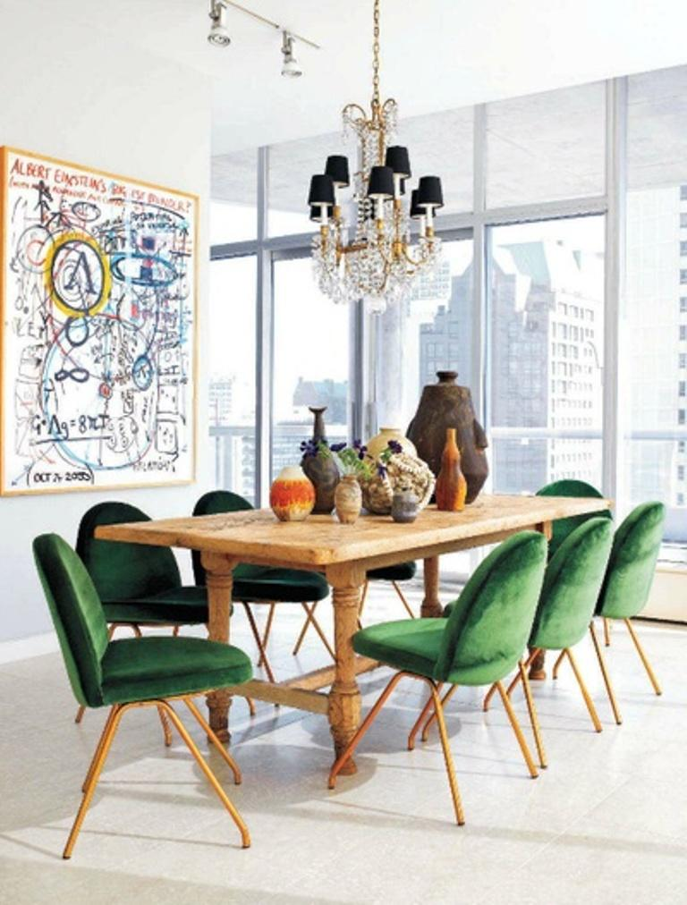 17 captivating eclectic dining room designs rilane for Eclectic dining room designs