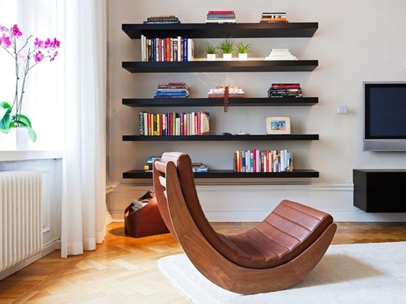 Wonderful Bold Modern Floating Shelves
