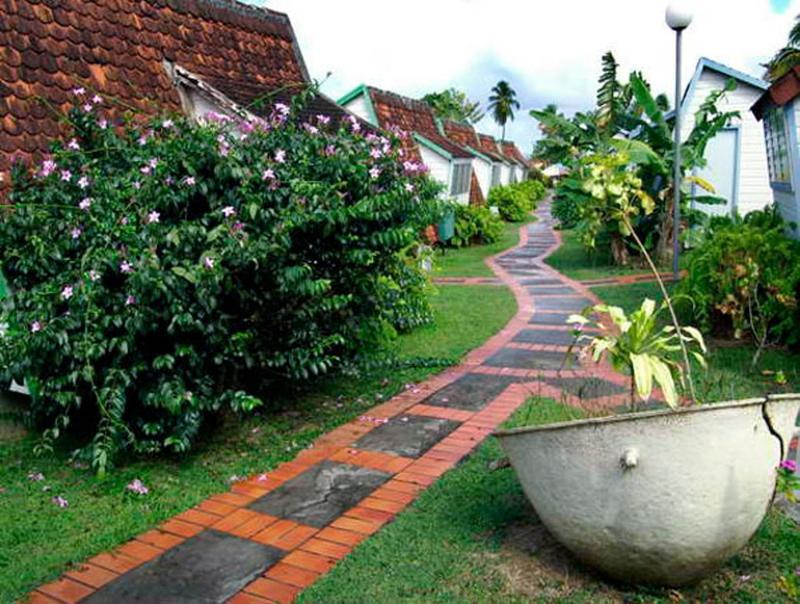 Brick And Stones Pathway