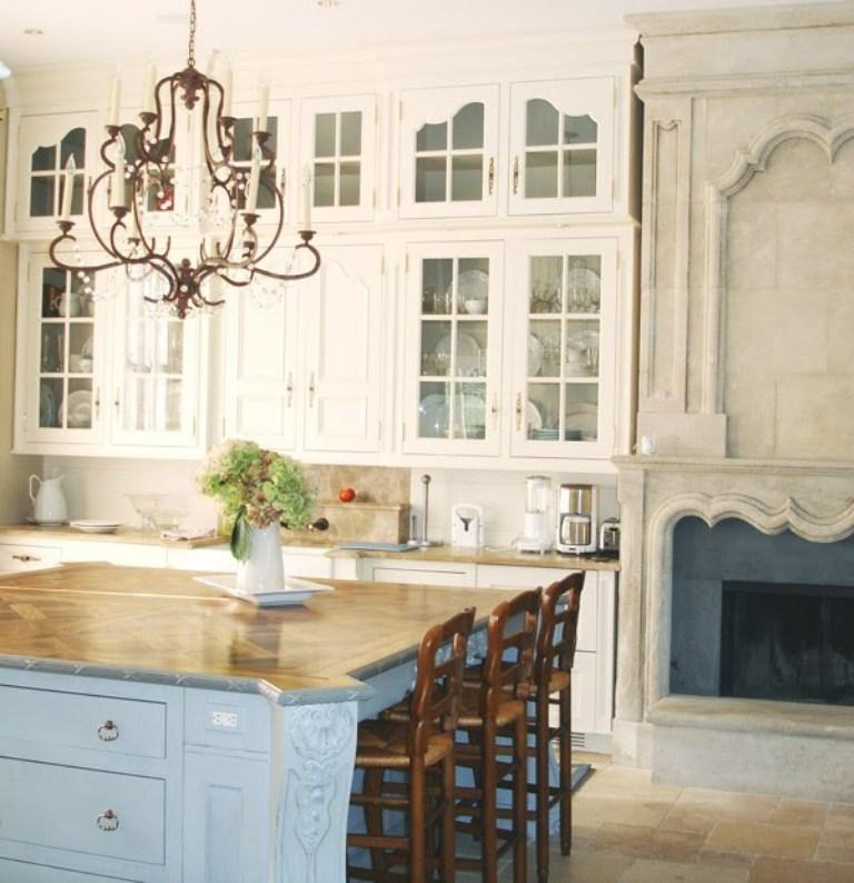 French White Kitchen Cabinets: 15 French Inspired Kitchen Designs