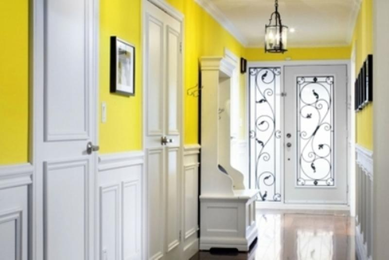 10 Inspiring Color Ideas for the Hallway - Rilane