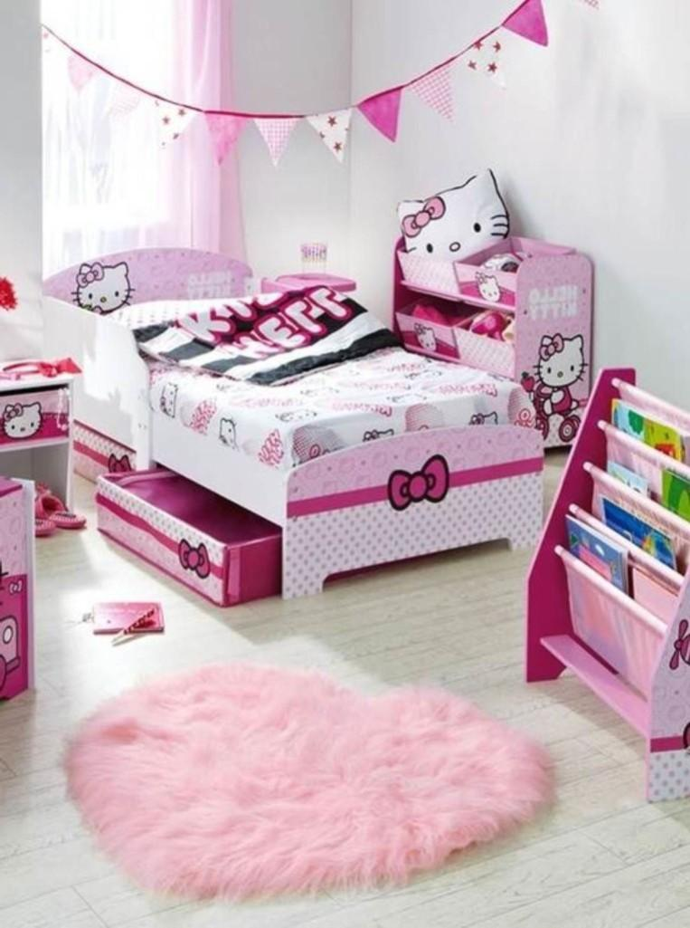 Delightful Hello Kitty Room Design Ideas Part - 11: Chic Hello Kitty Bedroom