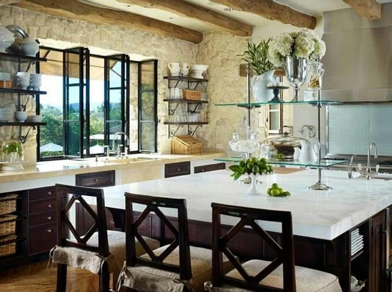 Classy French Style Kitchen