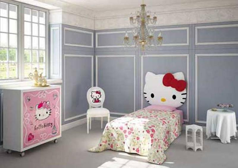Classy Hello Kitty Bedroom