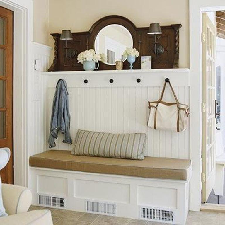 40 Organized Hallways With Beautiful Coat Rack Bench Rilane Stunning Coat Rack Bench