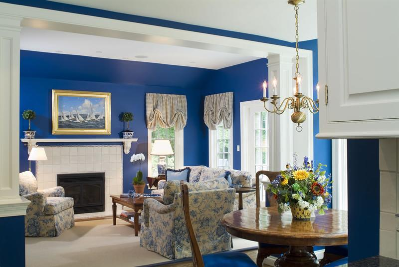 Living Room Ideas Blue 20 radiant blue living room design ideas - rilane
