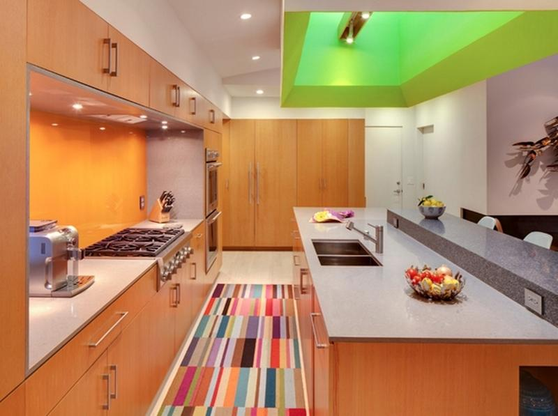 Modern Kitchen Rugs 10 modern kitchen area rugs ideas - rilane