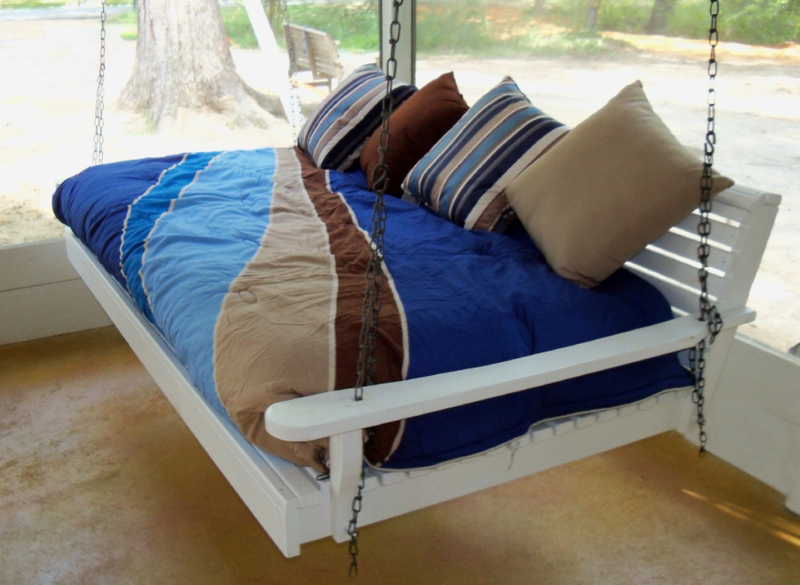 Comfy Porch Swing Bed