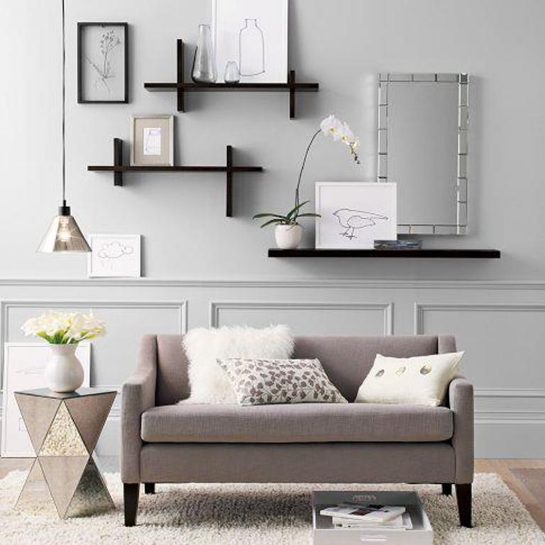 48 Modern Floating Shelves Design Ideas Rilane Amazing Floating Shelves In Living Room