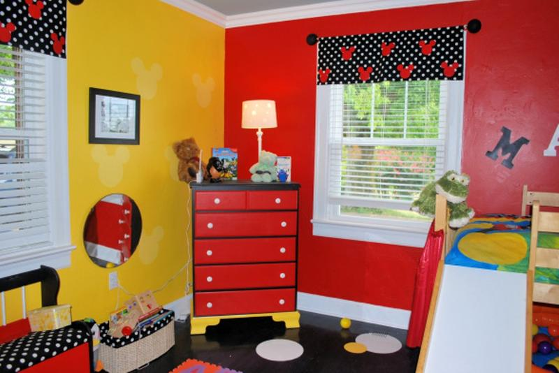 Cool Mickey Mouse Bedroom