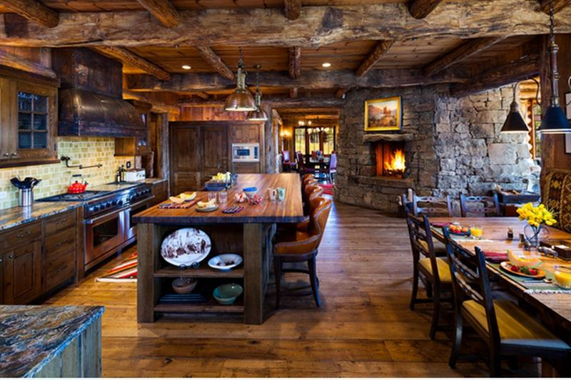 Rustic Kitchen Designs 15 rustic kitchen designs with exposed roof beams - rilane