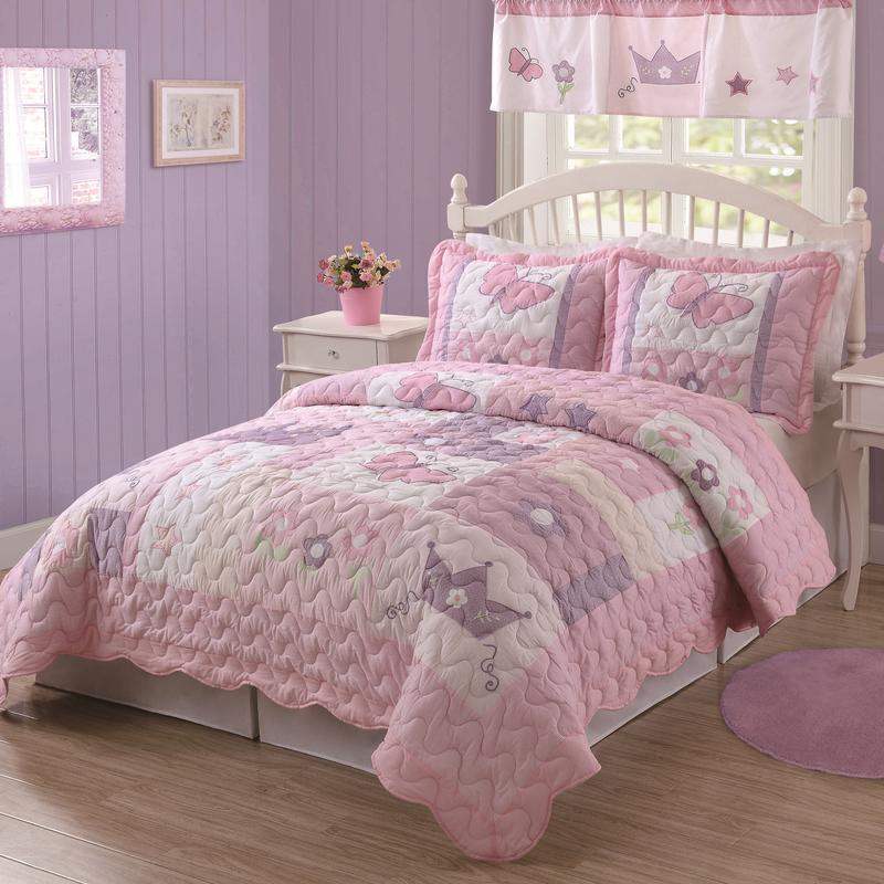 Cottony White Princess Bed