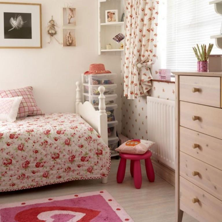 Country Bedroom For Girl