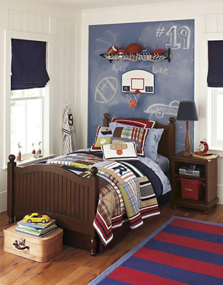 Sports Bedroom Decorating Ideas 15 Sports Inspired Bedroom Ideas For Boys  Rilane