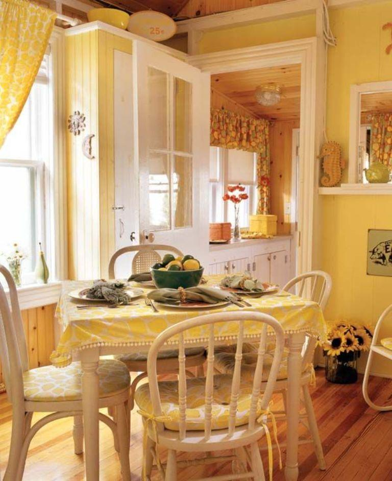 Pale Yellow Kitchen Cabinets: 15 Bright And Cozy Yellow Kitchen Designs