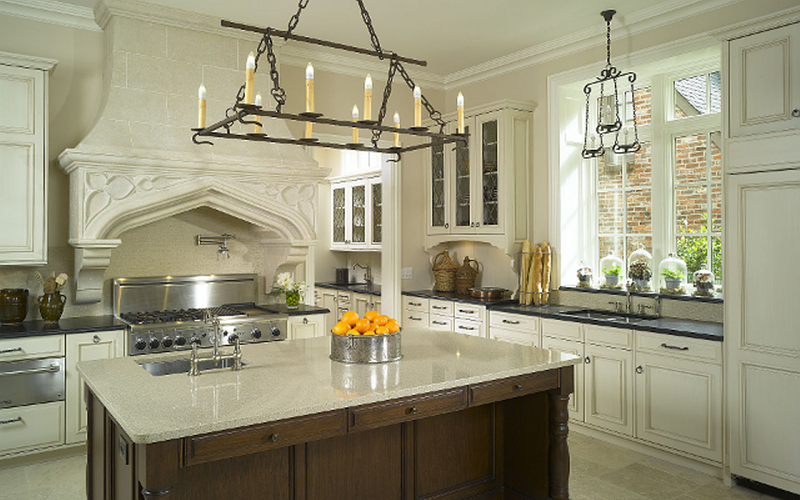 Creamy French Inspired Kitchen Part 46