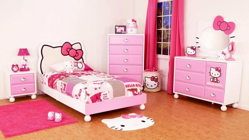 Cute Hello Kitty Bedroom. 15 Adorable Hello Kitty Bedroom Ideas for Girls   Rilane