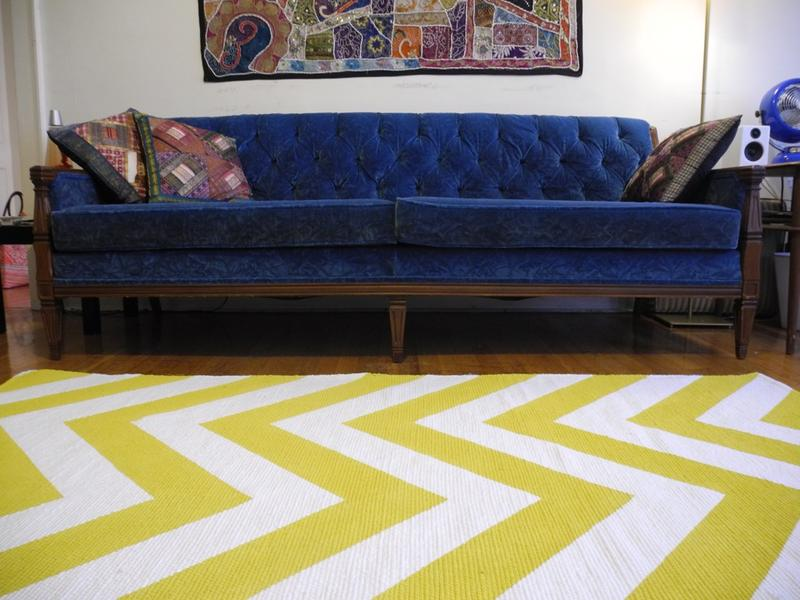 Living Room Yellow Rug 10 modern chevron rug designs for the living room - rilane