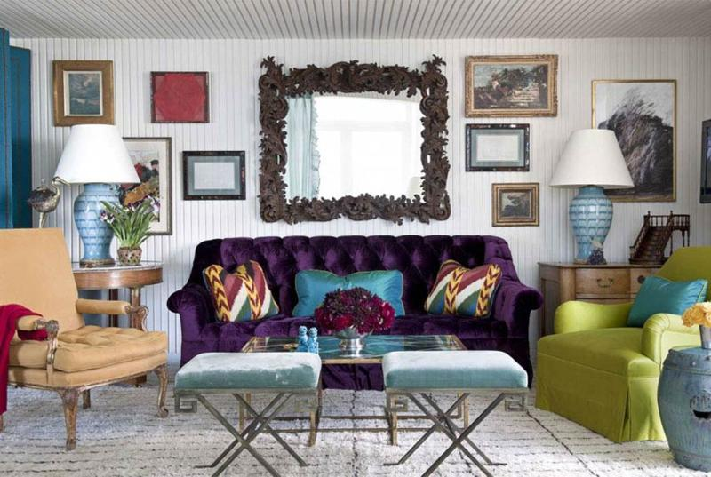 innovative modern eclectic living room design | 20 Modern Eclectic Living Room Design Ideas - Rilane