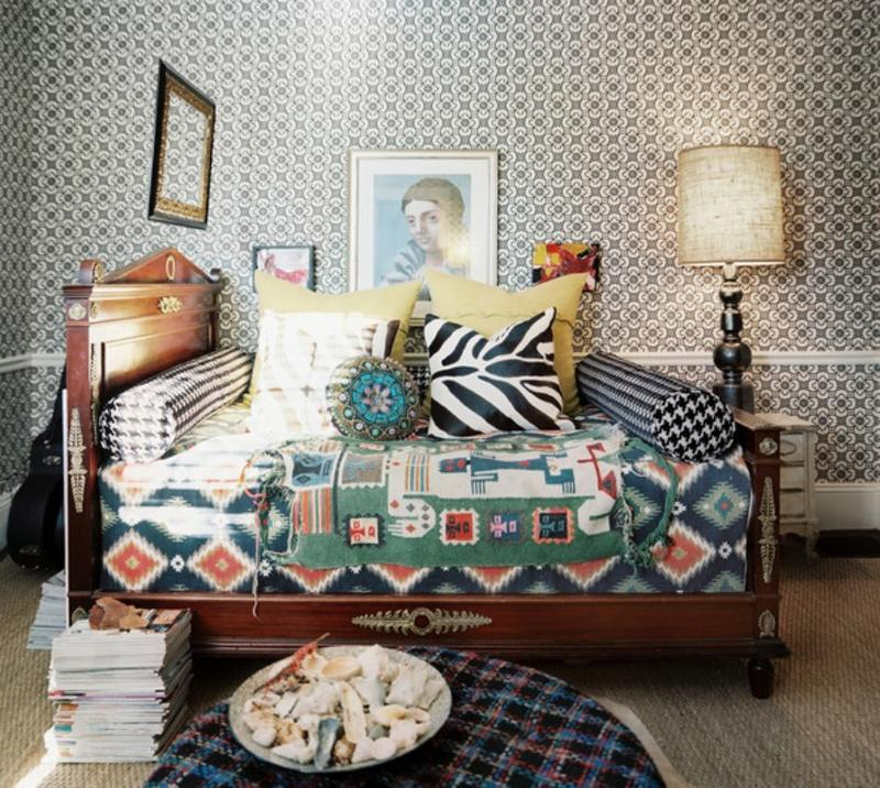 Eclectic Bohemian Bedroom