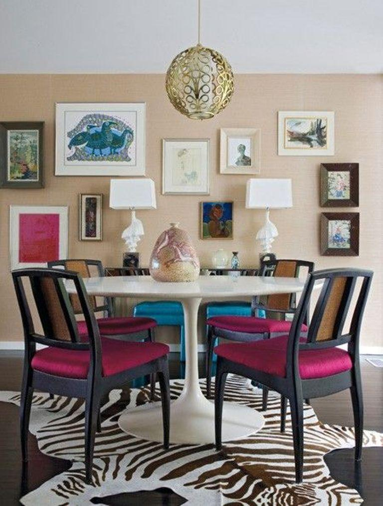 17 captivating eclectic dining room designs rilane gallery for gt eclectic dining room